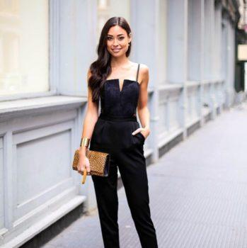 tenue combi noir st valentin